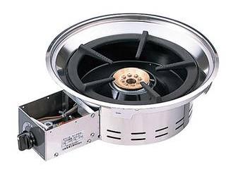 【代引不可】鍋物テーブル燃焼部セット CTK-22S LP