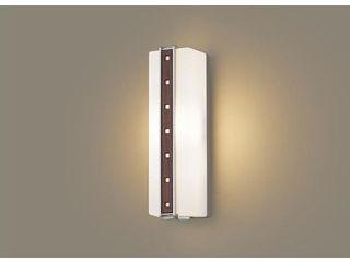Panasonic/パナソニック LGWC80411LE1 LEDポーチライト ミディアムブラウン木調飾り【電球色】【明るさセンサ付】【壁直付型】