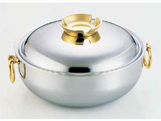WADASUKE/和田助製作所 SW電磁用しゃぶしゃぶ鍋/25cm(真鍮ハンドルツマミ)
