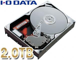 I・O DATA アイ・オー・データ HDS2-UTXシリーズ用交換ハードディスク 2TB HDUOPX-2