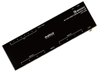 ADTECHNO/エーディテクノ HUS-0108E スケーリング機能搭載 業務用薄型HDMI 2.0a 8分配器