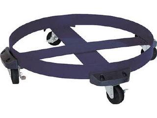 AQUA/アクアシステム ドラム缶用キャリー ゴム製タイヤ(最大耐荷重400kg) DC-NBR