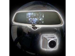 THANKO/サンコー 【お得なセット!】ミラー型360度全方位ドライブレコーダー リアカメラ付き CDVR36RC