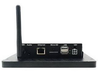 ※こちらの商品はお届けにお時間がかかります。またご注文後のキャンセルができません。予めご了承ください。 BrightSign 【キャンセル不可商品】Bluefin 10.1インチタッチディスプレイ(WiFi内蔵/PoE+対応) BS/BF10WT