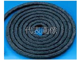 VALQUA/日本バルカー工業 炭素繊維グランドパッキン 6232-6.5mm×3m