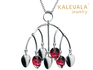 KALEVALA jewelry/カレワラジュエリー Mountain Berry (マウンテンベリー) ペンダント 2369050PUN80