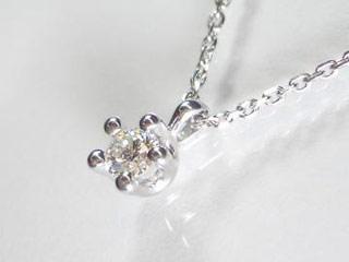 SIN ハート&キューピットダイヤペンダント 【18金ホワイトゴールド】【天然ダイヤ使用】【JS3455K18WG】 【納期に3~4週間かかるため、単品での購入でお願い致します。】【SINDYP】