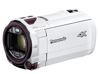 Panasonic/パナソニック HC-VZX992M-W(ピュアホワイト) デジタル4Kビデオカメラ ビデオカメラ