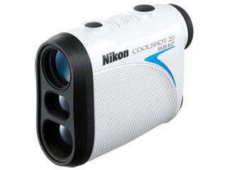 【nightsale】 Nikon/ニコン COOLSHOT 20 携帯型レーザー距離計 ソフトケース・ストラップ付