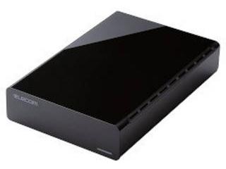 ELECOM/エレコム USB3.0対応外付けハードディスク 3TB ELD-CED030UBK