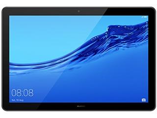 HUAWEI/ファーウェイ 10.1型タブレット Wi-Fiモデル MediaPad T5 10 AGS2-W09 53010MUR Black ブラック 単品購入のみ可(取引先倉庫からの出荷のため) 【クレジットカード決済、代金引換決済のみ】