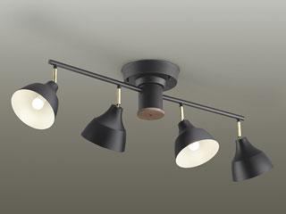 DAIKO/大光電機 DXL-81301 LEDスポットライト (ウォールナット塗装)※ランプ付