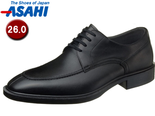 【nightsale】 ASAHI/アサヒシューズ AM33081 TK33-08 通勤快足 メンズ・ビジネスシューズ 【260.cm・3E】 (ブラック)