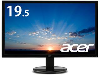 Acer/エイサー 納期未定 【メーカー3年保証】19.5型ワイドLED液晶ディスプレイ K202HQLAbmix ブラック