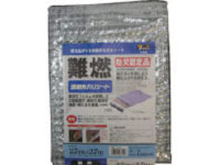 yutaka/ユタカメイク シート 難燃透明糸入りシート 2.7m×2.7m クリア B-326
