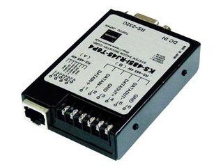 システムサコム工業 RS485変換ユニット絶縁 ACアダプタ仕様端子台6P KS-485I-RJ45-T6P4