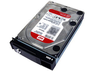 I・O DATA/アイ・オー・データ ウエスタンデジタル社Red採用LAN DISK Z専用 交換用ハードディスク 2TB HDLZ-OP2.0R