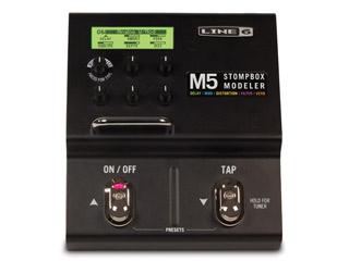 LINE6/ラインシックス M5 マルチエフェクター 【Stompbox Modeler】 【国内正規品】【新品】