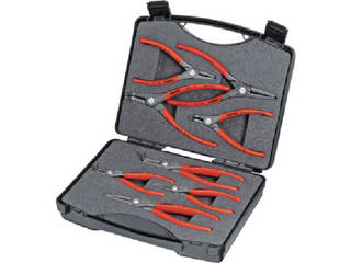 KNIPEX/クニペックス 002125 8本組 スナップリングプライヤー 002125