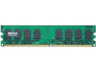 BUFFALO/バッファロー D2/667-2G DDR2 667MHz(PC2-5300)対応 240pin DIMM