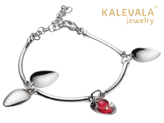 KALEVALA jewelry/カレワラジュエリー Mountain Berry (マウンテンベリー) ブレスレット 2569050PUN190