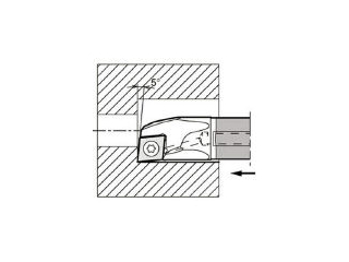 KYOCERA/京セラ 内径加工用ホルダ E16X-SCLCR09-18A