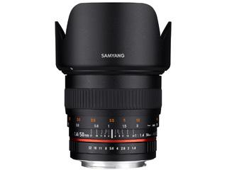 SAMYANG/サムヤン 50mm F1.4 AS UMC フジフイルムX用 ※受注生産のため、キャンセル不可 【受注後、納期約2~3ヶ月かかります】【お洒落なクリーニングクロスプレゼント!】