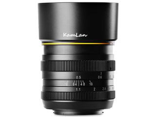 ★メーカー在庫僅少の為、納期にお時間がかかる場合があります KAMLAN/カムラン KAM0012 FS 50mm F1.1 Canon EF-M用 キヤノン EF-Mマウント