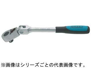 HAZET/ハゼット ラチェットハンドル(小判型ヘッド・首振りタイプ) 差込角9.5mm 8816GK