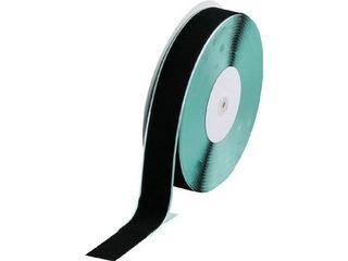 TRUSCO/トラスコ中山 マジックテープ 糊付A側 幅50mmX長さ25m 黒 TMAN-5025-BK
