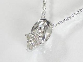 SIN ハート&キューピットダイヤペンダント 【18金ホワイトゴールド】【天然ダイヤ使用】【JS4146K18WG】 【納期に3~4週間かかるため、単品での購入でお願い致します。】【SINDYP】