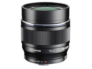 OLYMPUS/オリンパス M.ZUIKO DIGITAL ED 75mm F1.8(ブラック) 単焦点レンズ