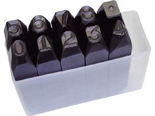 TRUSCO/トラスコ中山 逆数字刻印セット 2mm SKB-20