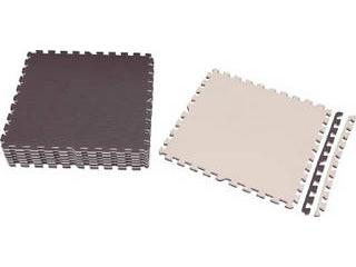 IRIS OHYAMA/アイリスオーヤマ ジョイントマット 60×60 32枚 ブラウン/ベージュ JTMR-632-BR