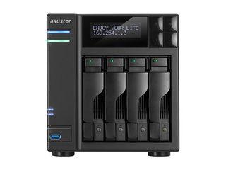 ASUSTOR 【キャンセル不可商品】NAS Core i3デュアルコア 3.5GHz DDR3 2GB 4ベイ AS7004T
