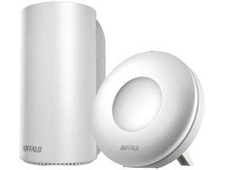 BUFFALO/バッファロー 無線LAN AirStation connect デュアルバンド親機1台 中継機1台セット WRM-D2133HP/E1S