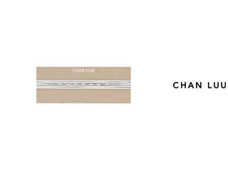 CHAN LUU/チャンルー セミプレシャスストーン レザーラップ NS-13288(WHITE) チャンルーオリジナル巾着袋付き!