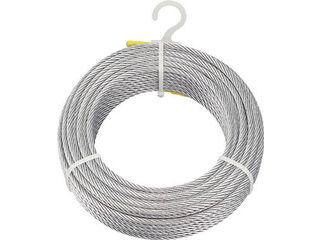 TRUSCO/トラスコ中山 【代引不可】メッキ付ワイヤロープ Φ6mmX200m CWM-6S200
