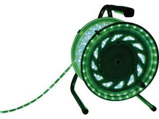NICHIDO/日動工業 LEDラインチューブドラム緑 RLL-50S-G