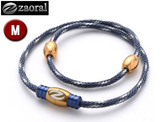 zaoral/ザオラル N13214 リカバリーネックレス 【Mサイズ:50cm】 (ネイビー/ゴールド)