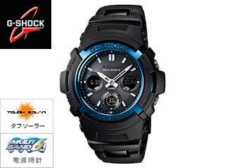 CASIO/カシオ AWG-M100BC-2AJF 【G-SHOCK】 BLACK/BLUEシリーズ MB6 【casio1211】 【RPS160325】 【正規品】【お取り寄せ商品】