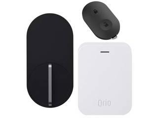 Qrio/キュリオ 【Google Assistant対応】 スマートロック Qrio Lock3点セット ・Qrio Lock本体、 Qrio Hub、Qrio Keyの3点セット