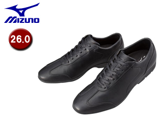 mizuno/ミズノ B1GC1523-09 LD40 CROSS ウォーキングシューズ 【26.0】(ブラック)