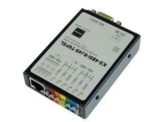 システムサコム RS232C(-)RS485変換器絶縁ACアダプタ端子台型 KS-485I-RJ45-T6PSL 納期にお時間がかかる場合があります