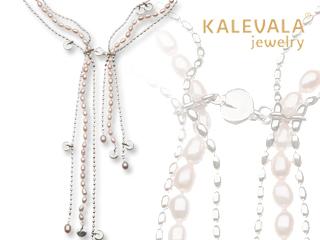 KALEVALA jewelry/カレワラジュエリー Twinflower(リンネソウ) ネックレス 2365403HE70