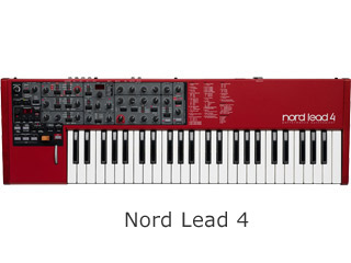CLAVIA/クラヴィア Nord Lead 4 シンセサイザー