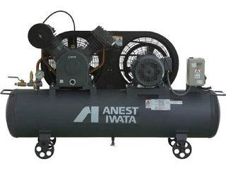 ANEST IWATA/アネスト岩田コンプレッサ 【代引不可】レシプロコンプレッサ(タンクマウント・オイルタイプ) 50Hz TLP37EF-10M5