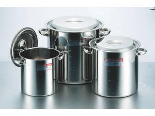 ※こちらの商品は【40cm(48L)】のみの単品販売になります。 CLO モリブデン寸胴鍋40cm(48L)手付目盛付