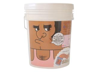 オンザウォール ひとりで塗れるもん(室内用塗り壁材) ゴッツ(ゴッツピンク) 22Kg 550168