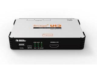 ※メーカー在庫僅少のため、納期にお時間がかかる場合がございます ADTECHNO エーディテクノ UHD_HQS 4K UHD対応 HDMI 2.0→クワッド3G-SDIコンバーター